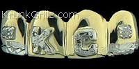 3D Diamond Letter Grillz