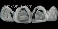 Diamond Dust Design & Cutout Grillz