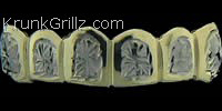 Asterisk Cut Grillz