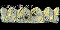 Crest Diamond Cut Grillz