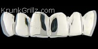 Polished Silver Grillz Grillz