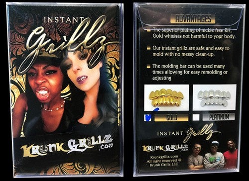 Instant Grillz - Gold Color Grillz