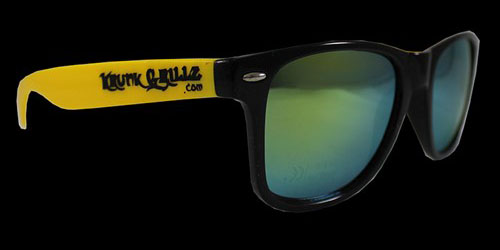 Black/Yellow Sunglasses Grillz