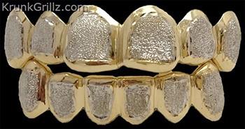 Border Diamond Dust Grillz