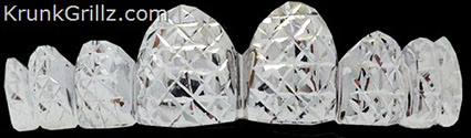 Cube Diamond Cut Grillz