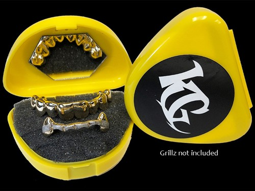 Yellow Grillz Case Grillz