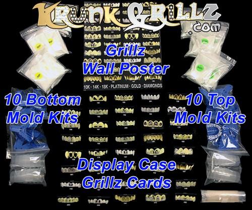 Krunk Grillz Reseller Kit