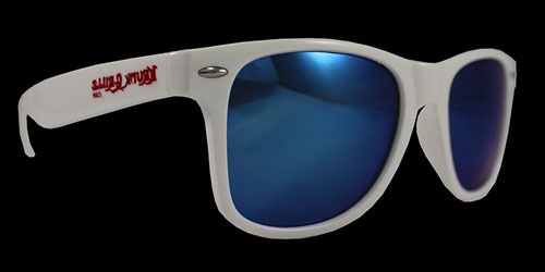 White/Blue Sunglasses