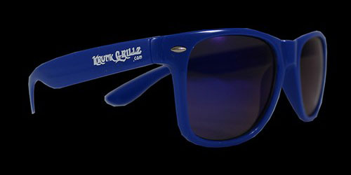 Blue Sunglasses Grillz