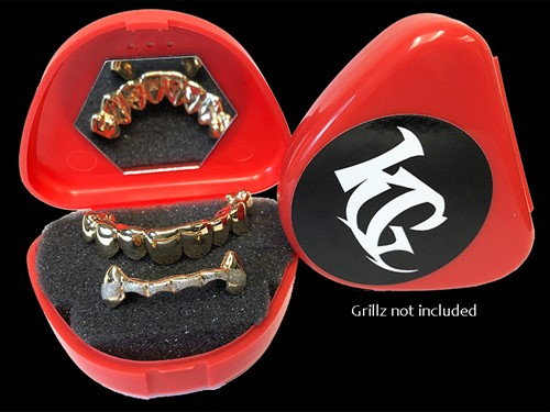 Red Grillz Case Grillz
