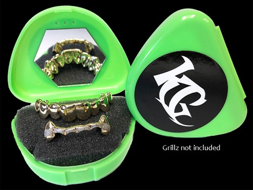 Green Grillz Case Grillz