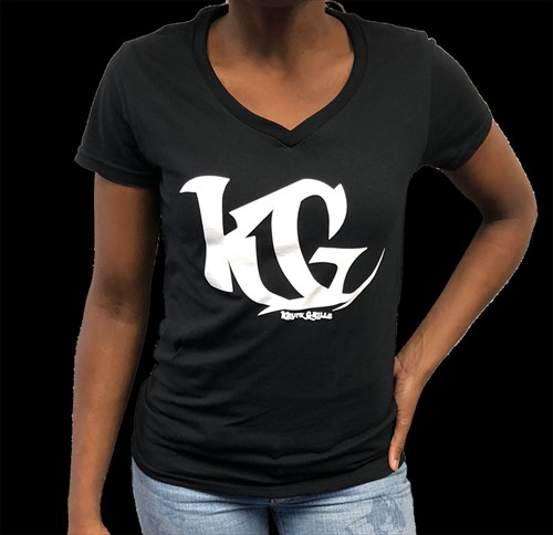 V-Neck Shirt Black KG Grillz