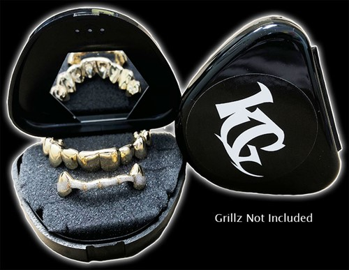 Black Grillz Case Grillz