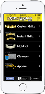 Grillz Shopping App