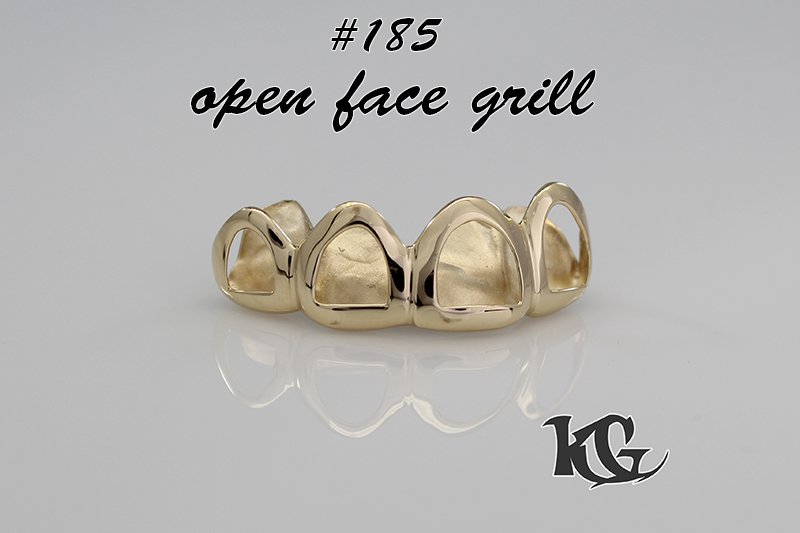 open face grillz