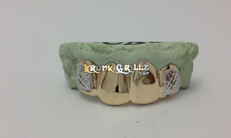 mouth grillz real gold